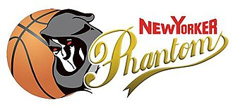 Basketball Löwen Braunschweig - Logo of the team as New Yorker Phantoms