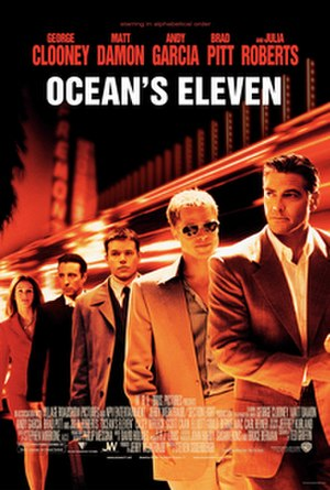 Ocean's Eleven - Theatrical release poster
