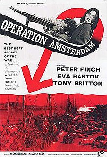 <i>Operation Amsterdam</i> 1959 war film by Michael McCarthy