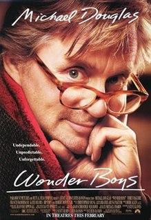 <i>Wonder Boys</i> (film) 2000 US/UK/German/Japan comedy-drama film by Curtis Hanson