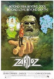 <i>Zardoz</i> 1974 film by John Boorman