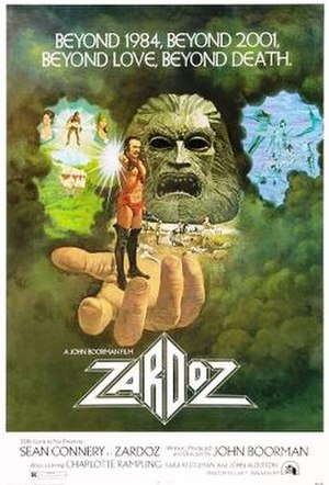 Zardoz - theatrical release poster