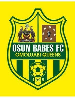 Osun Babes F.C. - Image: Osun Babes official logo