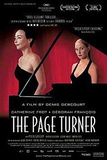 <i>The Page Turner</i> 2006 film by Denis Dercourt