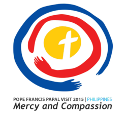 Papal Visit Philippines Pope Francis logo.png