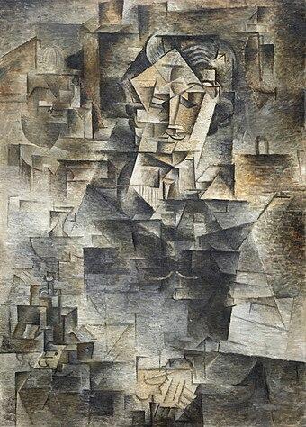 Pablo Picasso - Portrait of Daniel-Henry Kahnweiler