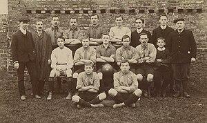York Football League - York League side Poppleton United in 1908.