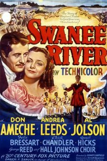 Poster of the movie Swanee River.jpg