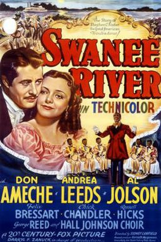 Swanee River (film) - Image: Poster of the movie Swanee River