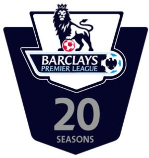 Premier League 20 Seasons Awards - The Premier League 20 Seasons Awards logo