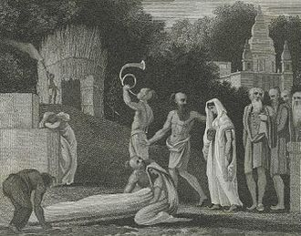 Bengal Sati Regulation, 1829 - Image: Procession of a Suttee Woman