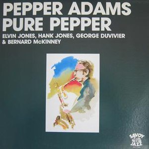 The Cool Sound of Pepper Adams - Image: Pure Pepper