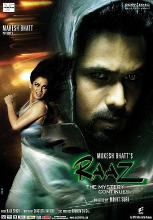 Raaz: The Mystery Continues - Theatrical release poster