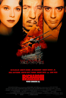 <i>Richard III</i> (1995 film) 1995 Shakespearean film by Richard Loncraine