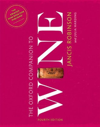 The Oxford Companion to Wine - Fourth edition cover