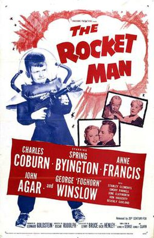 The Rocket Man (film) - Theatrical release poster