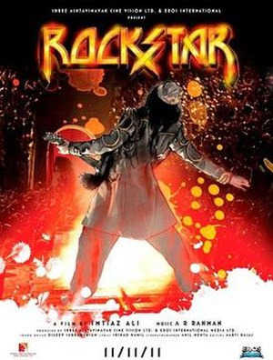 Rockstar (2011 film) - Theatrical release poster