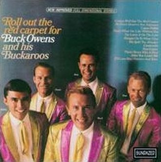 Roll Out the Red Carpet (Buck Owens album) - Image: Rollouttheredcarpet