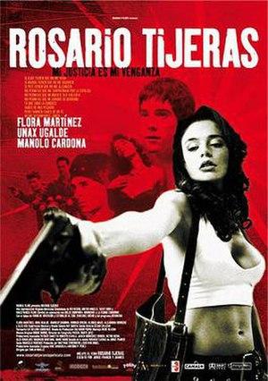 Rosario Tijeras (film) - Theatrical release poster