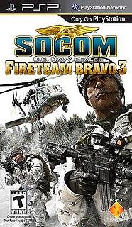 <i>SOCOM U.S. Navy SEALs: Fireteam Bravo 3</i>