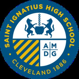 Saint Ignatius High School (Cleveland) - Image: Saint Ignatius High School Logo