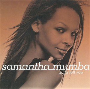 Gotta Tell You - Image: Samantha Mumba Gotta Tell You (U.K.)