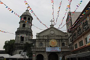 Martha - Diocesan Shrine of St. Martha, Parish of St. Roch in Pateros, Metro Manila, Philippines. The only shrine in the southeast Asia dedicated to St. Martha.