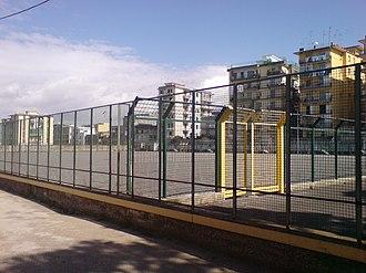 San Giorgio a Cremano - The home ground of Polisportiva San Giorgio a Cremano, known as 'The Den' to locals, has a gravel pitch.