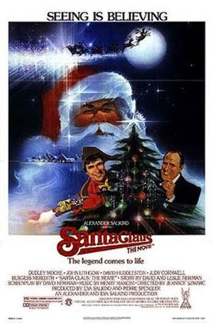 Santa Claus: The Movie - Theatrical release poster