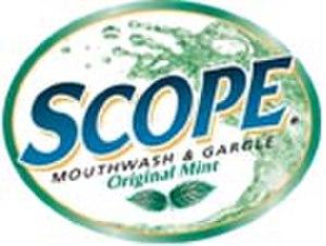 Scope (mouthwash) - Scope Mouthwash logo (1997–2009)