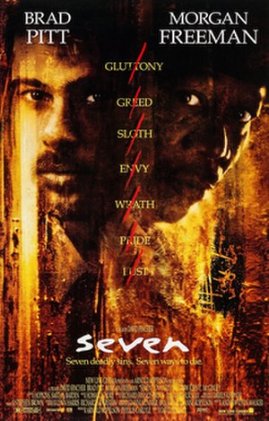 Seven (1995 film) - Theatrical release poster