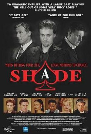 Shade (film) - Theatrical release poster