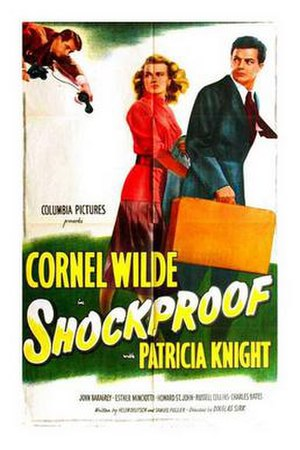 Shockproof - Theatrical release poster