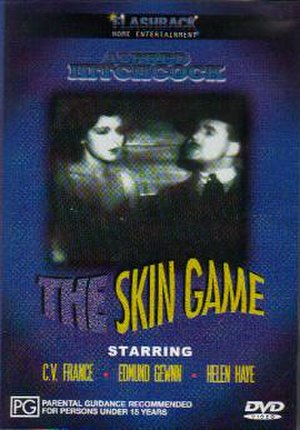 The Skin Game (1931 film) - Region 4 DVD cover