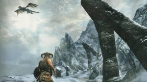 The Elder Scrolls - A third-person screenshot from Skyrim.