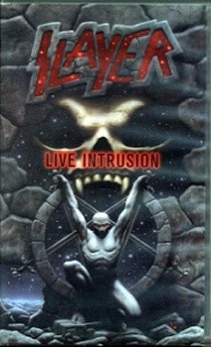 Live Intrusion - Image: Slayer Live Intrusion