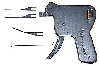 Snap gun Lock picking tool