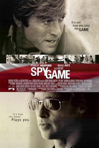 Spy Game - Theatrical release poster