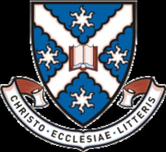St Andrew's College, University of Sydney - Image: Standrewscollegecres t