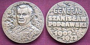 Stanislav Poplavsky - Commemorative medal.