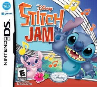Lilo & Stitch (franchise) - Cover of Disney Stitch Jam for Nintendo DS.