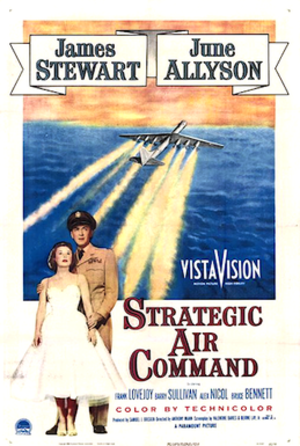 Strategic Air Command (film) - 1955 Theatrical Poster