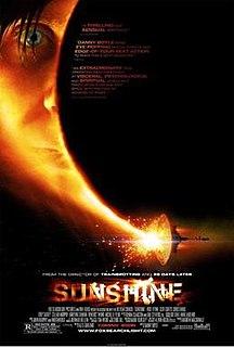 <i>Sunshine</i> (2007 film) 2007 British-American science fiction film by Danny Boyle