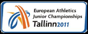 2011 European Athletics Junior Championships - Image: Tallinn 2011logo