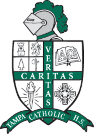 Tampa Catholic High School - Image: Tampa Catholic logo