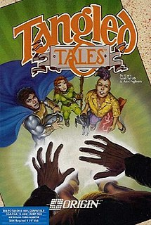 <i>Tangled Tales: The Misadventures of a Wizards Apprentice</i> 1989 video game