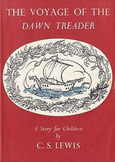 <i>The Voyage of the Dawn Treader</i> childrens fantasy novel by C. S. Lewis, 1952