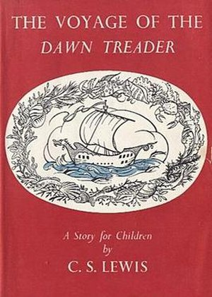The Voyage of the Dawn Treader - First edition dustjacket