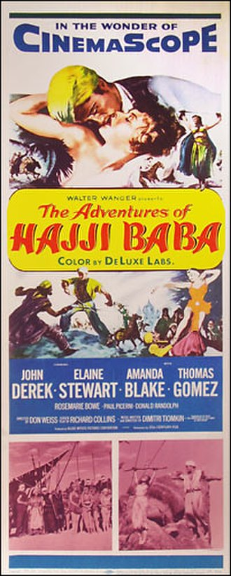 The Adventures of Hajji Baba - Image: The Adventures of Hajji Baba movie poster