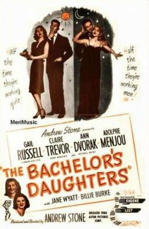 The Bachelor's Daughters - Theatrical release poster